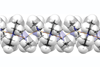 Helical strand of the crystal structure of diethylamine