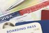 Visa, passport and boarding pass - all the travel documents you need
