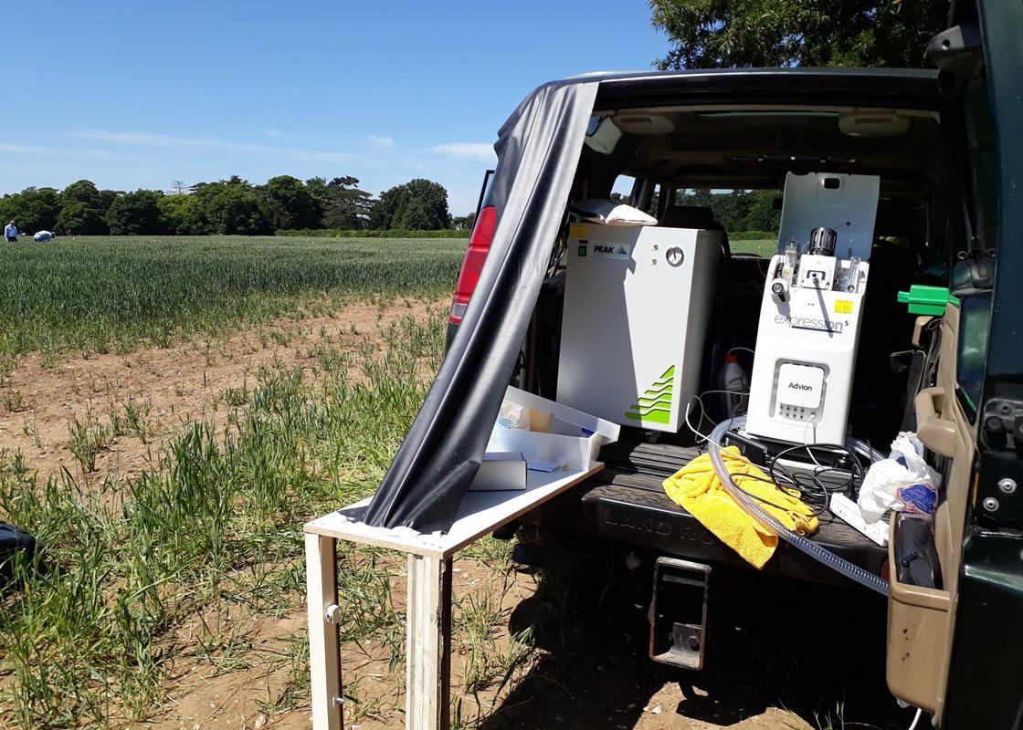 Mobile mass spectrometry – taking the laboratory to the field