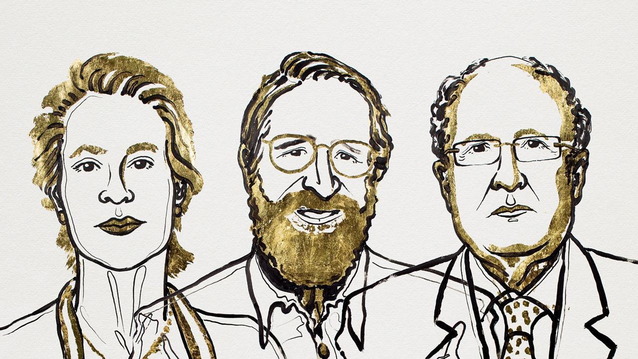 「nobel prize  portrait 2018」の画像検索結果