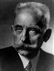 Portrait of Max Bodenstein