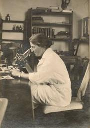 Lucy Wills at work in India