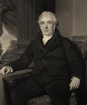 Portrait of Charles Macintosh. Before 1843, painted by J. Graham Gilbert, R.S.A., engraved by Edward Burton.