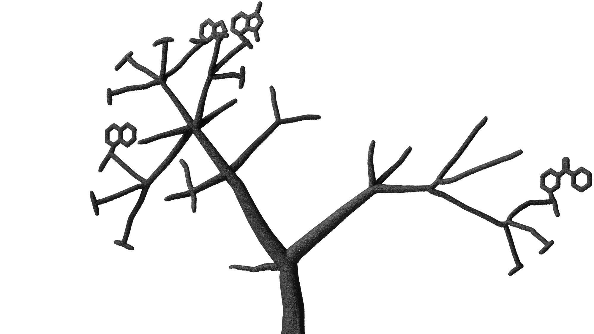 ExScientia tree logo
