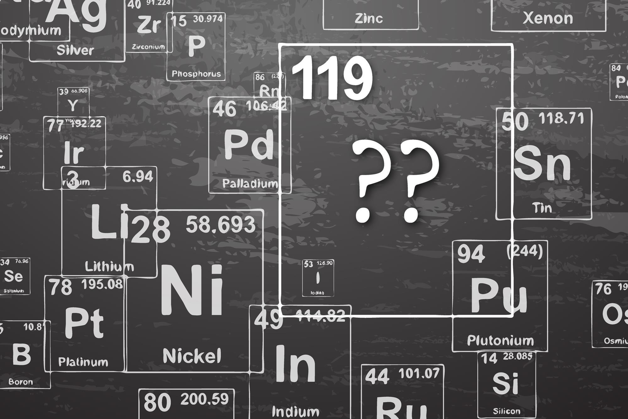 Beyond element 118 the next row of the periodic table news element 119 research urtaz