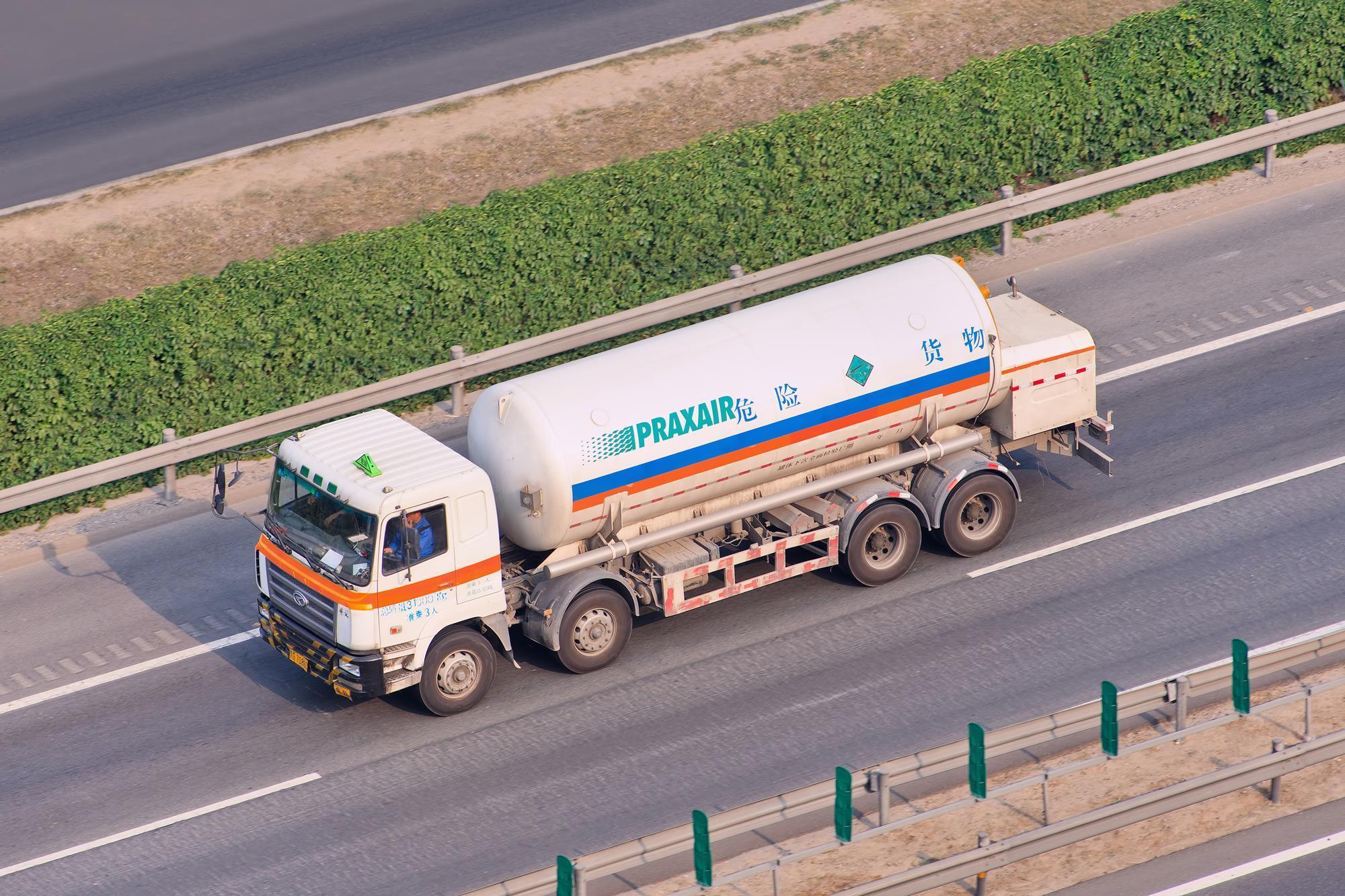Linde Gas Truck