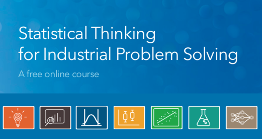 Free online course: Statistical thinking for industrial problem