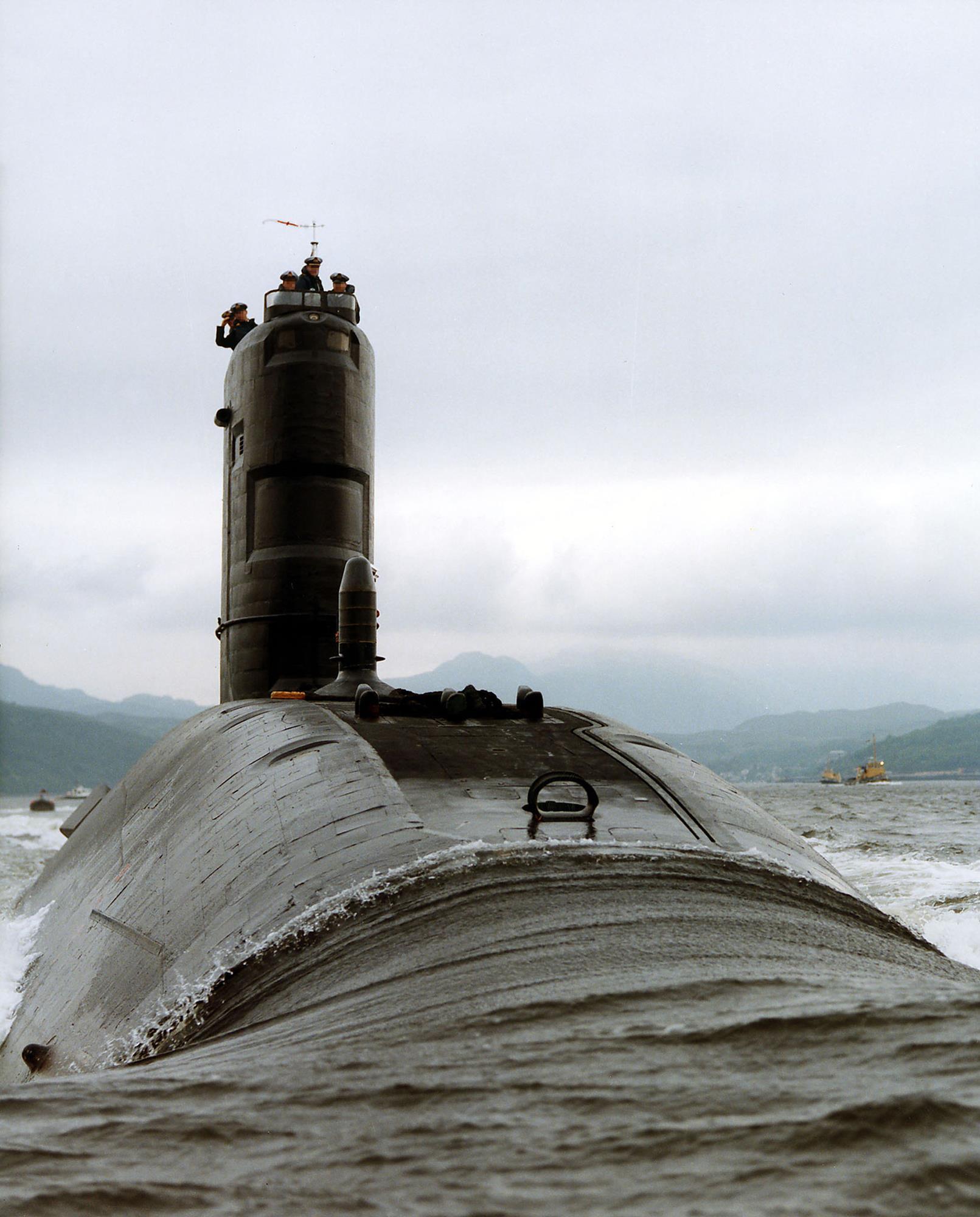 How do you scrap a nuclear submarine? | News | Chemistry World