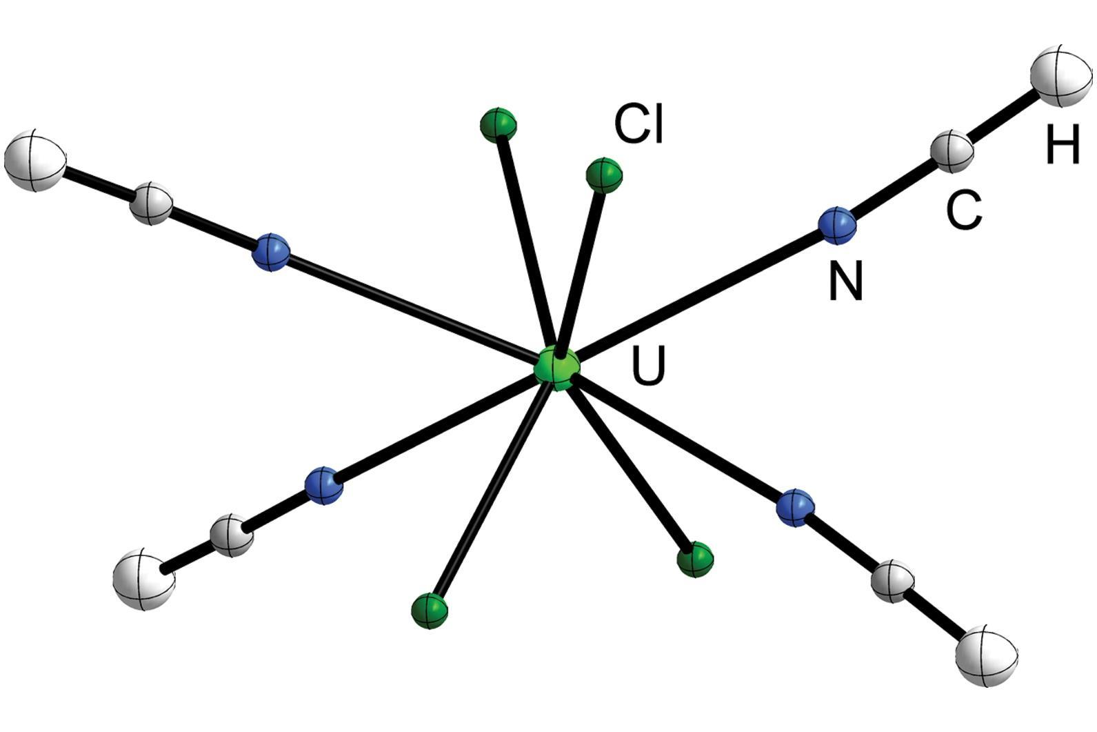 Uranium at heart of rare hydrogen cyanide complex research uranium at heart of rare hydrogen cyanide complex research chemistry world biocorpaavc Image collections