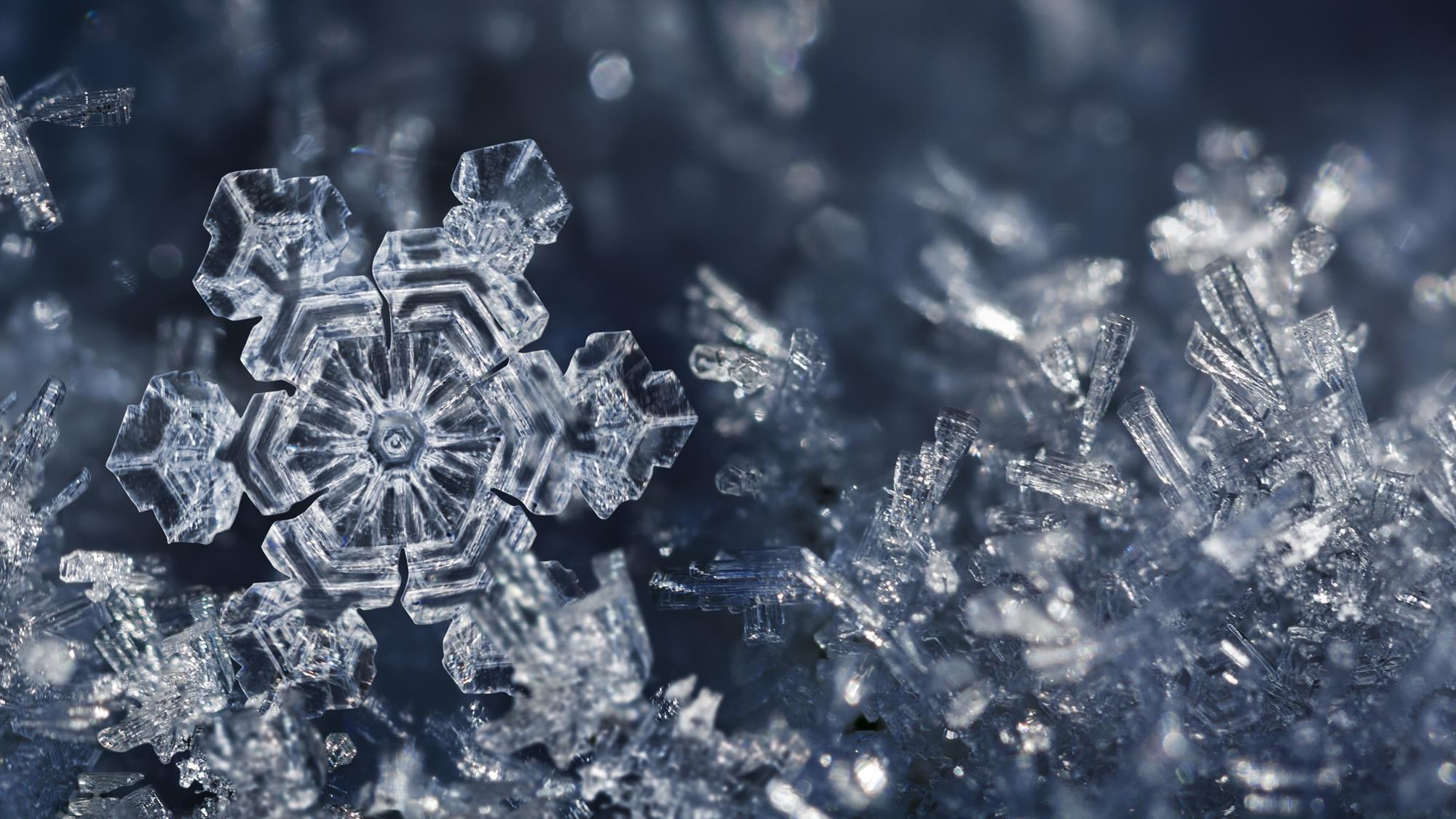 what makes a snowflake special news chemistry world