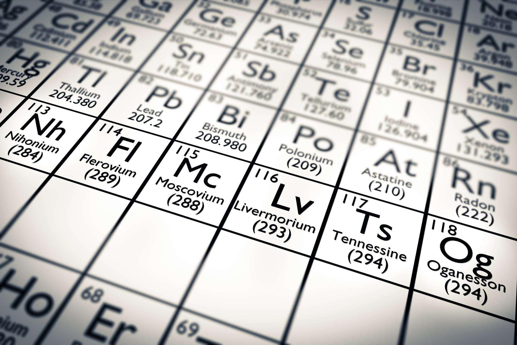 molecular cages could uncover element 114s true chemical nature research chemistry world - Periodic Table No Crossword