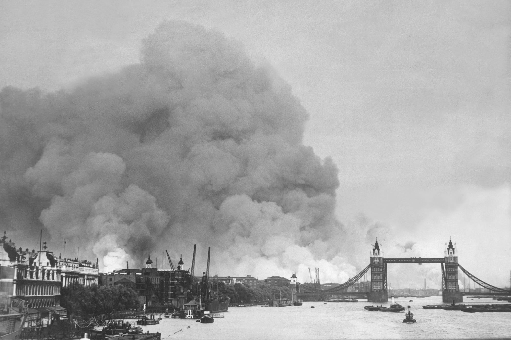London soil pollution worst on former Blitz bomb sites