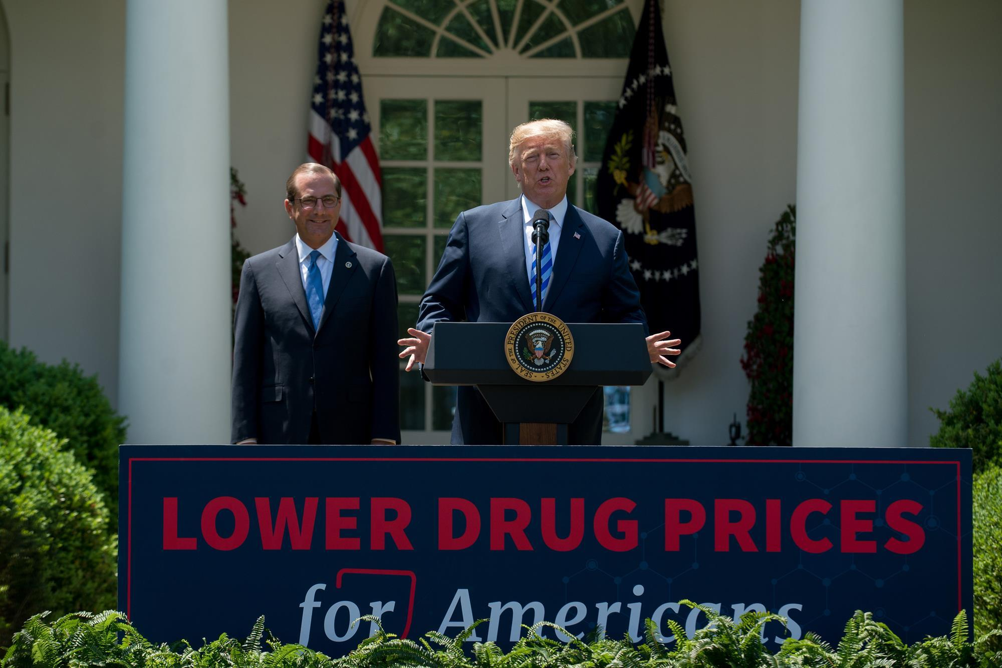 Trump lays out plan to slash drug costs business chemistry world malvernweather Choice Image