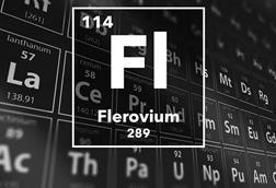 Periodic table of the elements – 114 – Flerovium