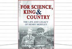 The book cover of For Science, King and Country