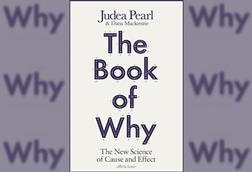A picture of the book cover of The book of why
