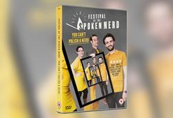 A picture of the DVD cover of Festival of the Spoken Nerd