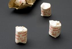 Packet of mercurous chloride tablets, Kassel, Germany, 1914-1917