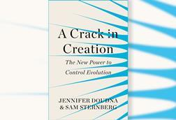 Cover of A Crack in Creation by Jennifer Doudna & Sam Sternberg
