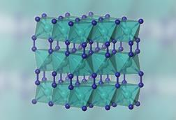 An image showing the structure of copper diazenide