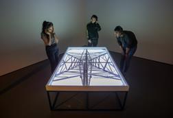 An image taken at the Dark Matter Exhibition
