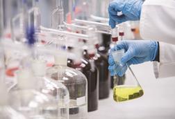 Decanting liquids in the lab