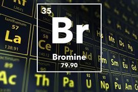 Periodic table of the elements – 35 – Bromine