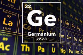 Periodic table of the elements – 32 – Germanium