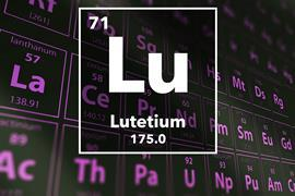 Periodic table of the elements – 71 – Lutetium
