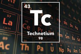 Periodic table of the elements – 43 – Technetium