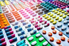 Blister pack tablets