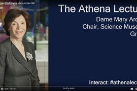 Mary Archer Athena Lecture