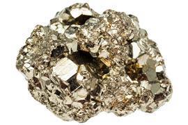 Iron pyrite (fool's gold)