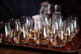 Whisky tasting glasses