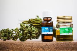 CBD oil - cannabis oil containing cannabidiol