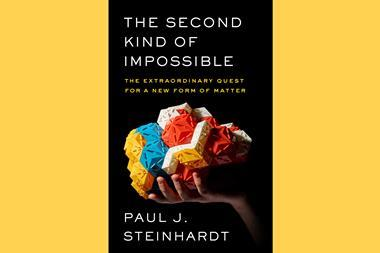 A picture of the book cover of The second kind of impossible