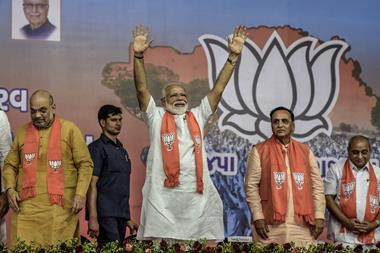 An image showing the India prime minister Narendra Modi