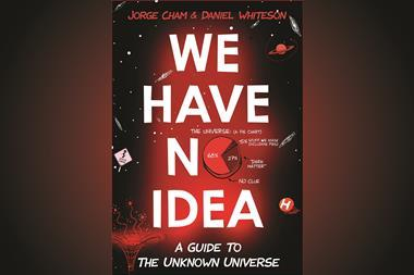 Jorge Cham & Daniel Whiteson – We Have No Idea front cover