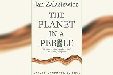 Jan Zalasiewicz – The Planet in a Pebble front cover
