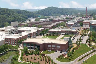 Aerial view of ORNL main campus