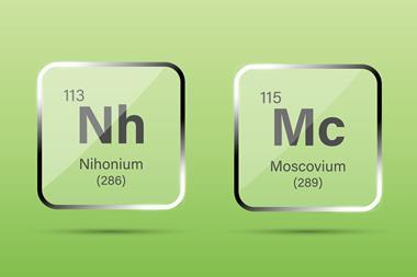 An image of Nihonium and Moscovium