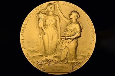 Hevesy   Nobel prize medal