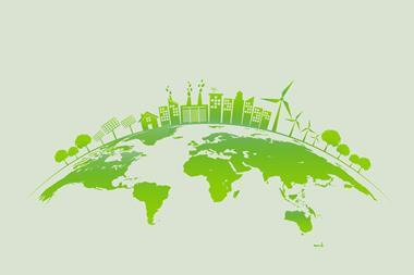 An image representing green energy