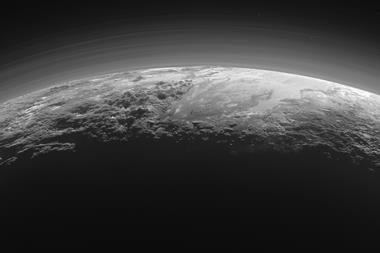 Pluto's Majestic Mountains, Frozen Plains and Foggy Hazes