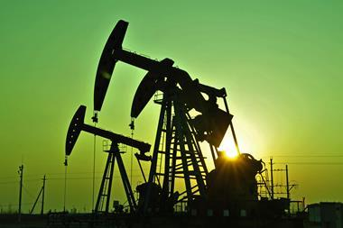 A picture of oil pumps