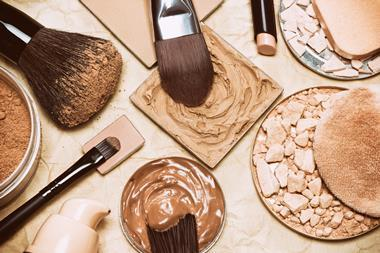 A picture of cosmetics