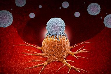 A scientific illustration for immunotherapy