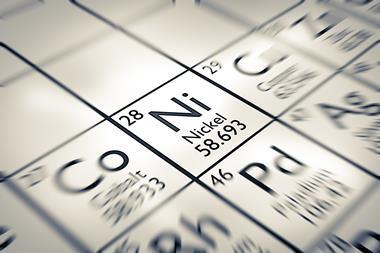 Focus on Nickel Chemical Element from the Mendeleev periodic table