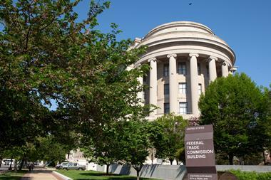 An image showing the Federal Trade Commission Headquarters