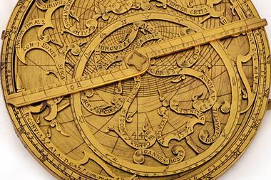 Astrolabe, a form of astronomical calculating device